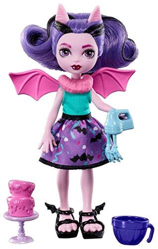 Mattel Monster High FCV68 - Monster Family Küchen-Kreationen Draculauras Cousine Fangelica