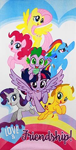 SETINO 821-472 My Little Pony Strandtuch Badetuch 70cm x 140cm