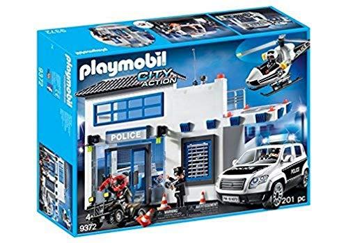 PLAYMOBIL City Action 9372 Polizeistation, ab 4 Jahren
