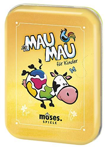 moses. 90321 Mau-Mau Kartenspiel   Spiele-Klassiker   Für Kinder ab 5 Jahren