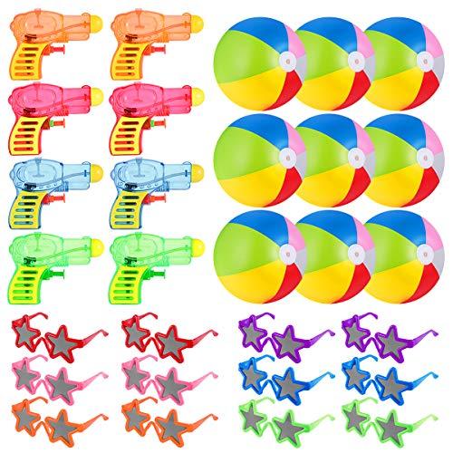 Toyvian Kinder Strand Spielzeug Wasserspritzpistolen Pack Wasserspiele Pistole Sommer Party Spielen...