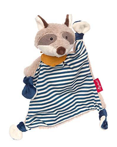 SIGIKID 39195 Schnuffeltuch Waschbär Kuscheltuch Mädchen und Jungen Babyspielzeug empfohlen ab Geburt...