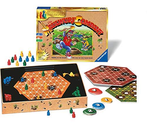 Ravensburger 26423 - Die Maulwurf Company - Familienspiel für Erwachsene und Kinder ab 8 Jahren, Ideal...