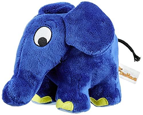 Schmidt Spiele 42189 - Die Sendung mit der Maus, Elefant Plüschtier (ca. 17 x 19 cm)