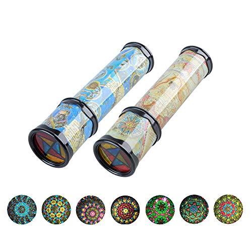 kuaetily Kaleidoskop, 2 Stücke Klassisches Verstellbar Kaleidoskop Pädagogisches Spielzeug für Kinder...