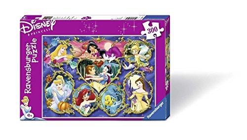Ravensburger 13108 - Gallerie der Disney Prinzessinen, 300 Teile Puzzle