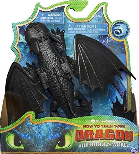 Dreamworks Dragons Spinmaster – 6045118 Drachenzähmen leicht gemacht 3: Die geheime Welt – Ohnezahn...