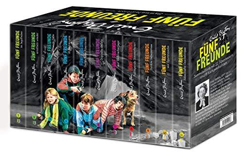 Fünf Freunde - Sammeledition. Alle 21 original Abenteuer im Schmuckschuber - plus acht Kurzgeschichten!:...
