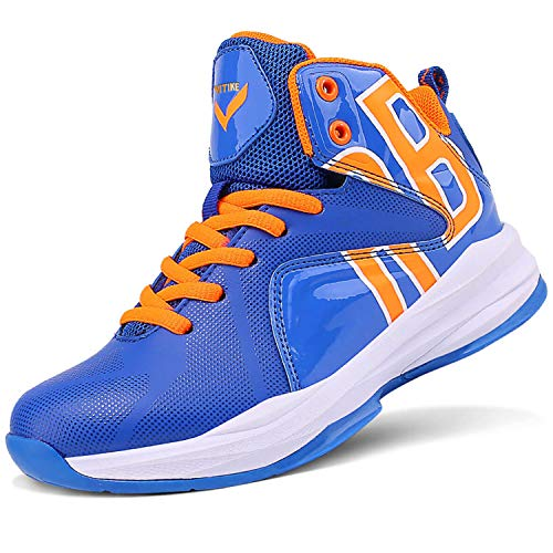 ASHION Jungen Basketballschuhe Sneaker Sportschuhe Jungen Turnschuhe Laufschuhe Outdoorschuhe(G...