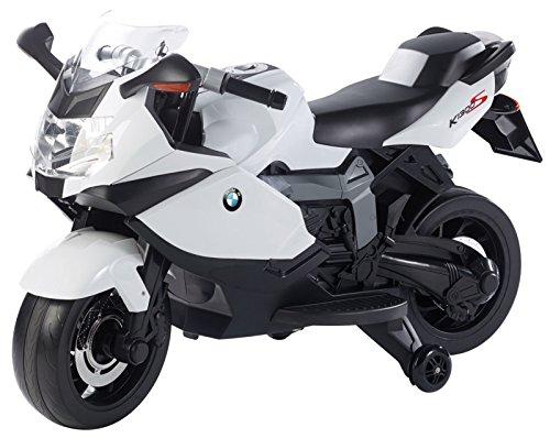 Playtastic Elektro Motorrad: Original BMW-Lizenziertes elektrisches Kindermotorrad BMW K1300 S (Kinder...