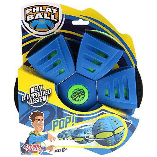 Goliath Phlat Classic V5 Wahu 2in1 Ball und Frisbee, blau