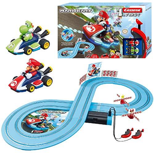 Carrera FIRST Nintendo Mario Kart™ 2,4 Meter 20063026 Autorennbahn Set ab 3 Jahren
