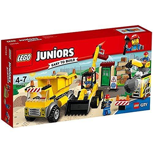 5. Das passende Teil finden beim Lego-Set 'Die große Baustelle'