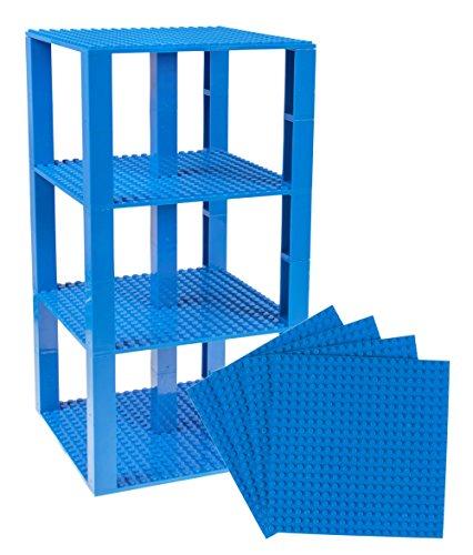 Strictly Briks Brik Tower - Stapelbare Bauplatten mit Stackers - geeignet für den Turmbau - 100 %...
