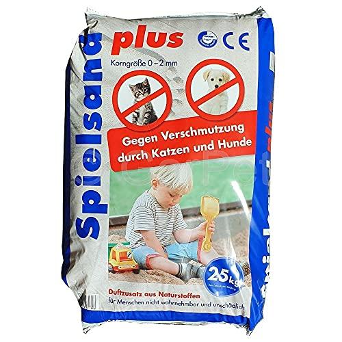 GarPet Spielsand Plus 25 Kg TÜV Nord Spielkasten Sand für Sandkasten Kinderspielsand