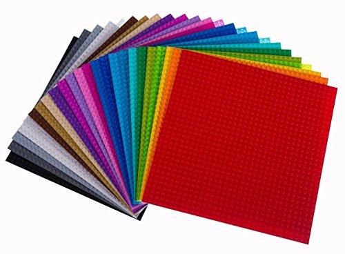 Strictly Briks - Bauplatten zum Bauen von Türmen, Tischen & mehr - 100 % kompatibel mit Allen führenden...