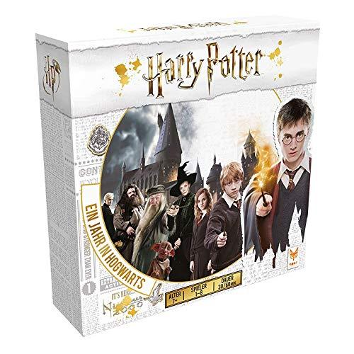 Asmodee Harry Potter Ein Jahr in Hogwarts, Familienspiel, Strategiespiel, Deutsch