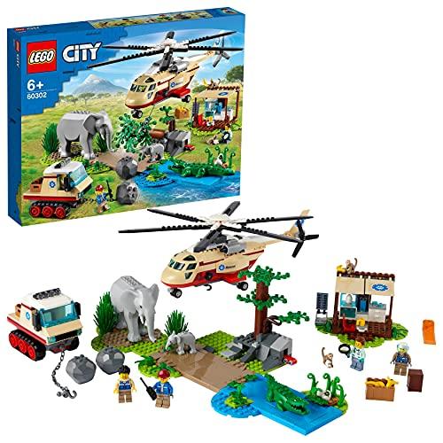 Wildtier-Bauset 'Tierrettungseinsatz' von LEGO City