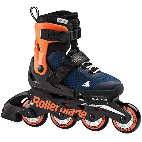 Rollerblade Microblade Inlineskate Midnight Blue/Warm Orange 230