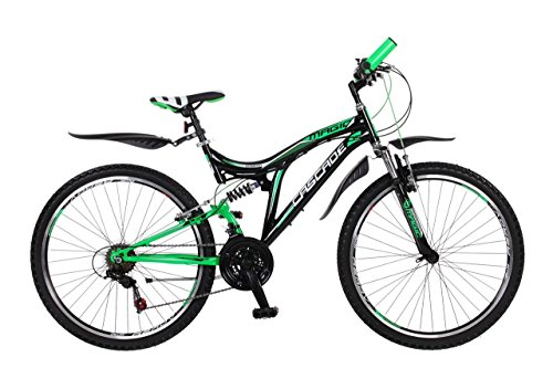 Frank Bikes 26 Zoll Kinderfahrrad Mountainbike Fahrrad Vollgefedert Jugendfahrrad Kinderrad Rad Shimano...
