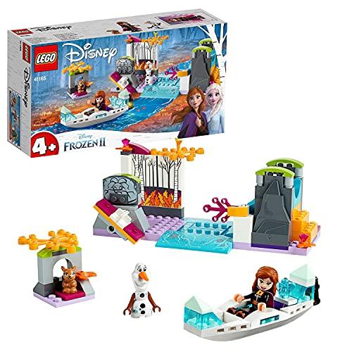 LEGO 41165 Disney Princess Frozen Die Eiskönigin 2 Annas Kanufahrt, Bauset mit Mini Puppen Anna & Olaf...