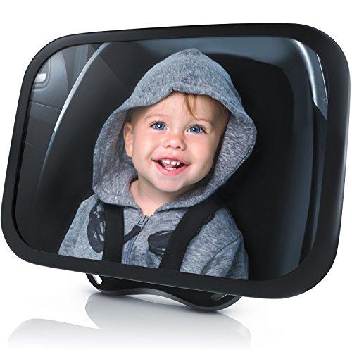Rücksitzspiegel für Babys - Autositz Spiegel - Spiegel Auto Baby - Rückspiegel für die Babyschale...