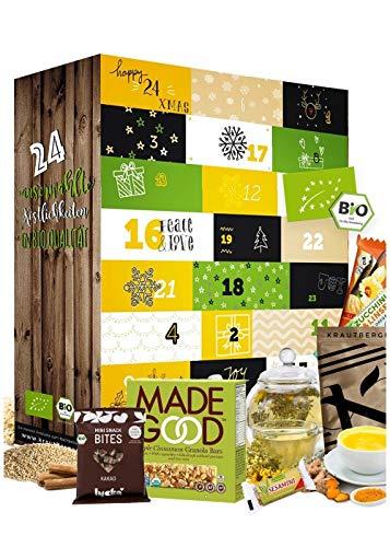 Adventskalender 2020 Gesund I GESUNDER ADVENTSKALENDER I Gesunde Snacks in der Weihnachtszeit I...