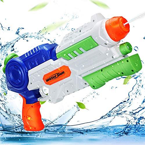 Ucradle Wasserpistole Spielzeug, 1200ML Wasserpistolen groß mit 8-10 Meter Reichweite für Kinder und...