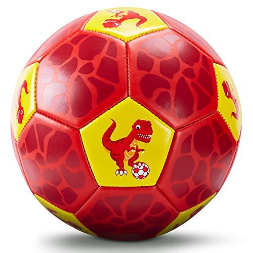Fußball Spielzeug Mit Ballpumpe und Netz, Kinder Fußball Ball für das Training Drinnen Draußen,...