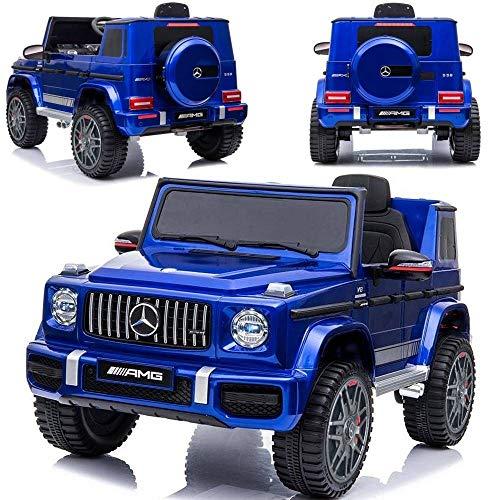 Elektroauto für Kinder elektrisches Kinderauto Mercedes Benz G63 Lizensiert mit Autolackierung, 2x45W,...