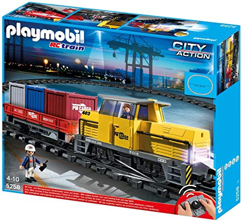 Playmobil 5258 - Neuer RC-Güterzug mit Licht und Sound