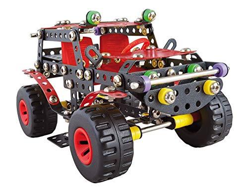 A ALEXANDER 1270 Constructor Ranger Schwarze Spinne Metall Bausatz, 354 Teile Metallbaukasten,...