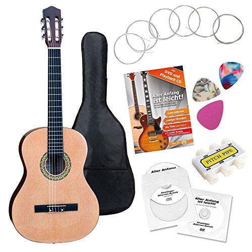 Classic Cantabile Konzertgitarre: Kindergitarre ½ Set