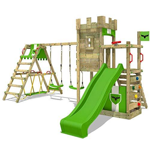 XXL-Spielturm mit Rutsche von FATMOOSE