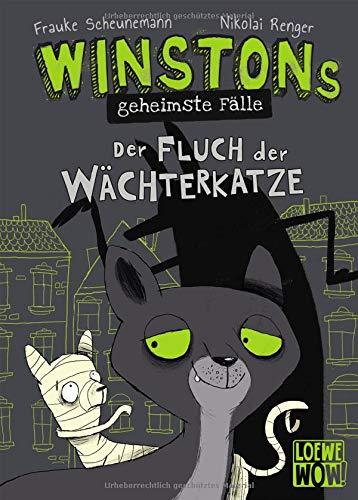 Winstons geheimste Fälle (Band 1) - Der Fluch der Wächterkatze: Kinderbuch ab 10 Jahre - Präsentiert...