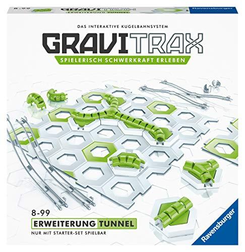 Ravensburger GraviTrax Erweiterung Tunnel - Ideales Zubehör für spektakuläre Kugelbahnen,...