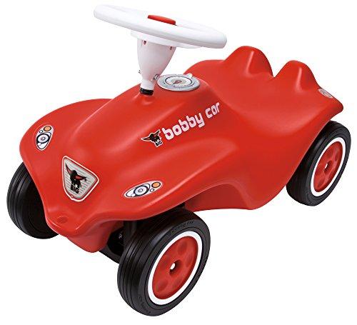 BIG-Bobby-Car New - Kinderfahrzeug für Jungen und Mädchen, klassisches Rutschfahrzeug belastbar bis 50...