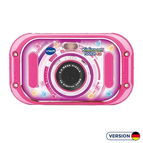 VTech 80-163554 Kidizoom Touch 5.0 pink Kinderkamera Digitalkamera für Kinder Kinderdigitalkamera,...