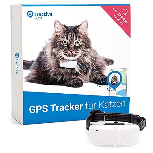 Tractive GPS Tracker für Katzen mit Halsband. 24/7 GPS-Ortung & 365 Tage Positionsverlauf. Folge deiner...