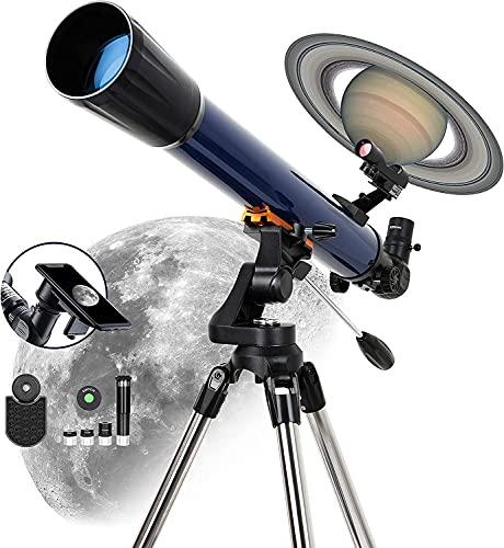 ESSLNB Refraktor Teleskop Astronomie Profil 525X Vergrößerung 70/700 Sternen Teleskop für Kinder...