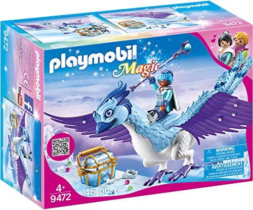 PLAYMOBIL Magic 9472 Prachtvoller Phönix mit Schmucksteckern, Ab 4 Jahren