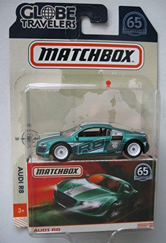 Matchbox Audi R8 Grün Best of Globe Travellers 1:64