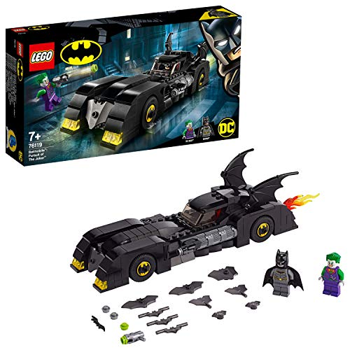 Lego 76119 Super Heroes Batmobile: Verfolgungsjagd mit dem Joker