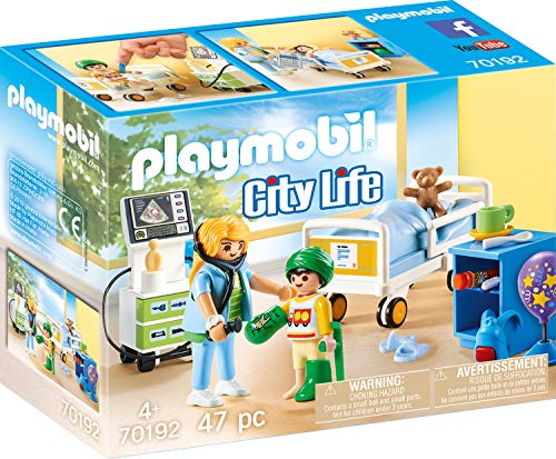 Playmobil 70192 City Life Kinderkrankenzimmer, ab 4 Jahren, bunt, one Size