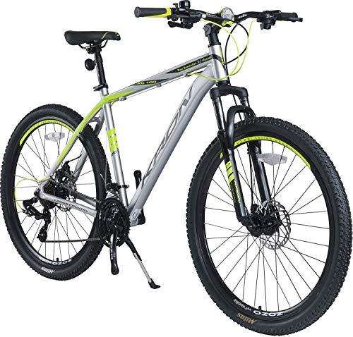 KRON XC-100 Hardtail Aluminium Mountainbike 26 Zoll 27.5 Zoll 29 Zoll | 21 Gang Shimano Kettenschaltung...