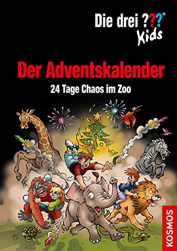 Die drei ??? Kids, Der Adventskalender: 24 Tage Chaos im Zoo Extra: Stickerbogen