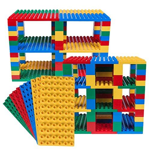 Strictly Briks - Big Briks Set für Turm-Konstruktionen - Premium-Bauplatten - kompatibel mit großen...