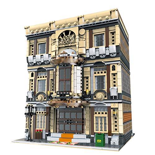 YxFlower City Custom Bausteine Modell Architektur Spielzeug,5052 Stück DIY Puzzle Bausatz Modell...
