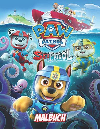 Paw patrol malbuch: Hochwertige Malvorlagen für 'Paw Patrol' -Fans
