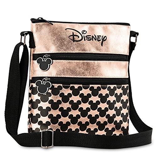 Disney Umhängetasche Damen und Teenager, Mickey Mouse und Minnie Mouse Tasche Damen, Kleine...
